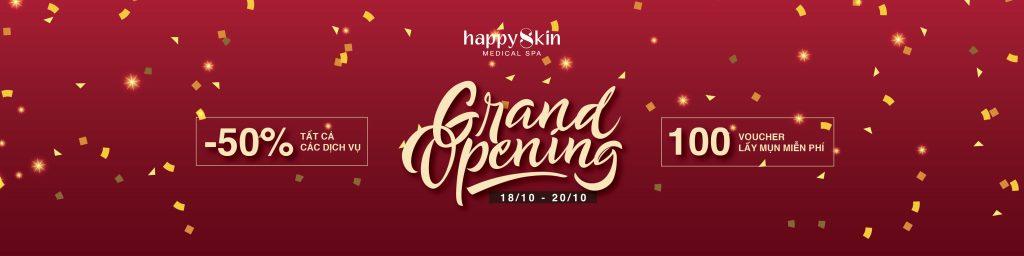 Happy Skin Medical Spa Chính Thức Khai Trương Với Vô Vàn Ưu Đãi