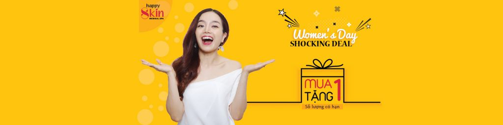 Mua 1 tặng 1 – Woman's day, Shocking deal
